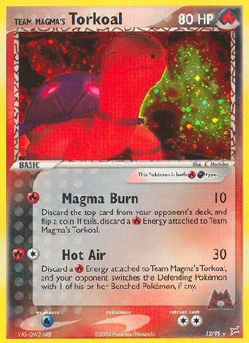 Team Magma's Torkoal (#12/97)