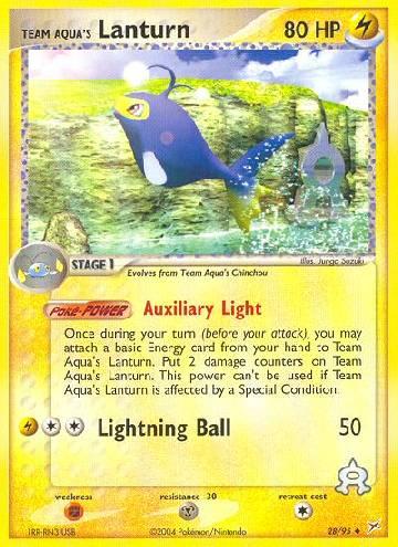 Team Aqua's Lanturn (#28/97)