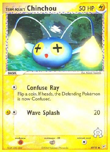 Team Aqua's Chinchou (#49/97)