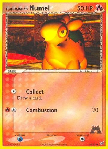 Team Magma's Numel (#64/97)