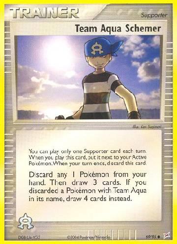 Team Aqua Schemer (#69/97)
