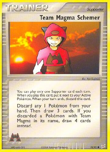 Team Magma Schemer (#70/97)