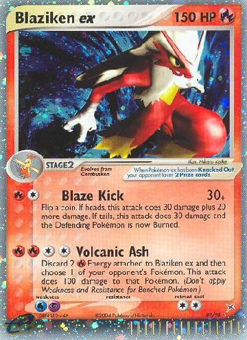 Blaziken ex (#89/97)