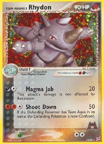 Team Magma's Rhydon (#11/97)