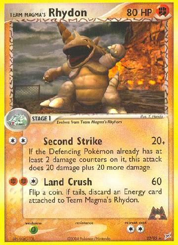 Team Magma's Rhydon (#22/97)
