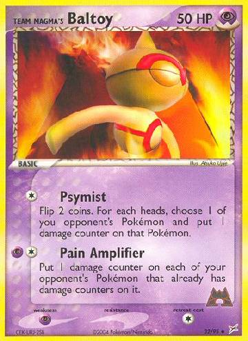 Team Magma's Baltoy (#32/97)