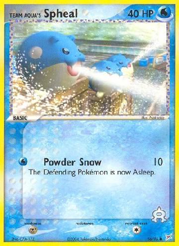 Team Aqua's Spheal (#56/97)