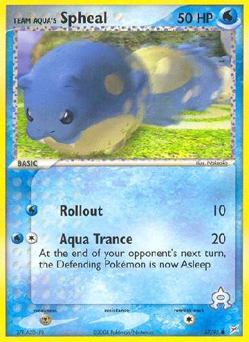 Team Aqua's Spheal (#57/97)