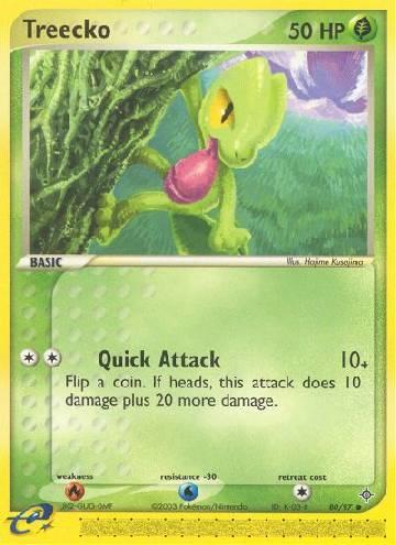 Treecko (#80/100)