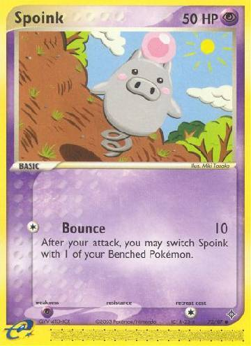 Spoink (#73/100)