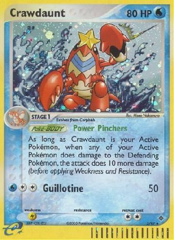Crawdaunt (#3/100)
