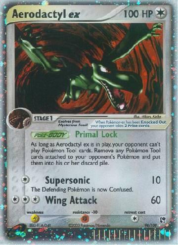 Aerodactyl ex (#94/100)