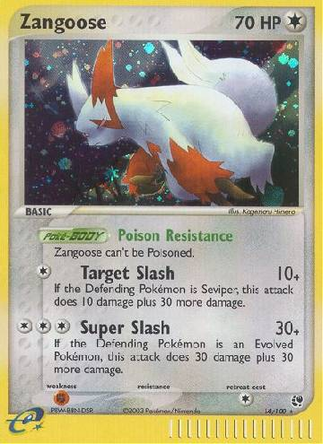 Zangoose (#14/100)