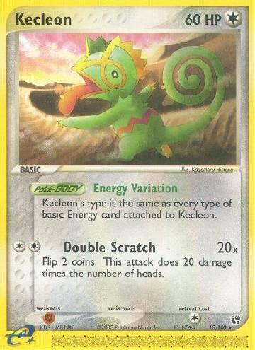 Kecleon (#18/100)