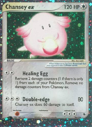 Chansey ex (#96/109)