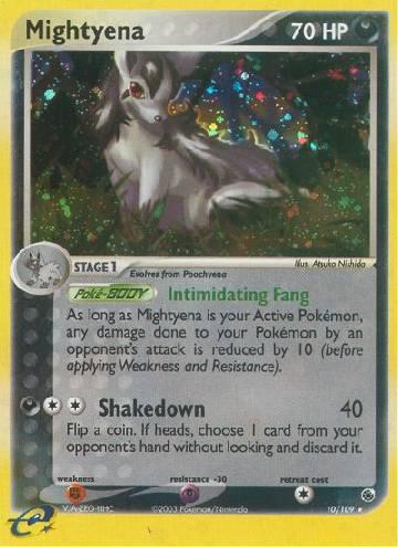 Mightyena (#10/109)