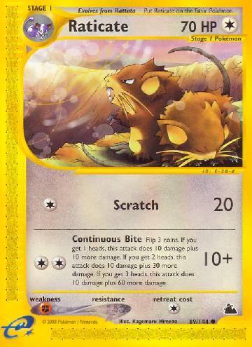 Raticate (#89/182)