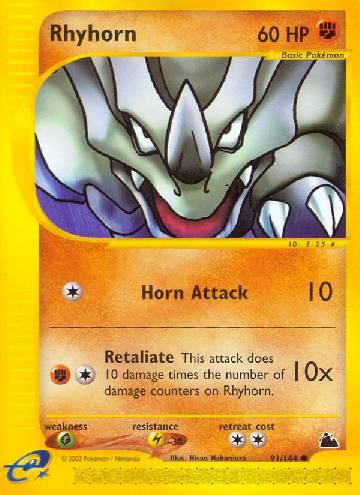 Rhyhorn (#91/182)