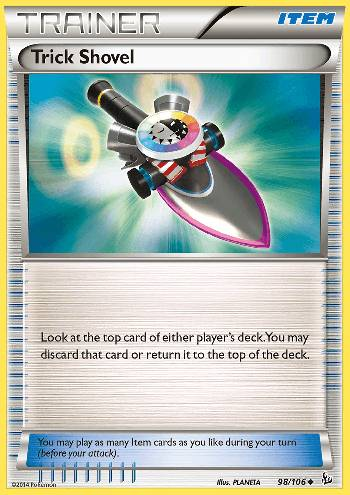 Trick Shovel (#98/109)