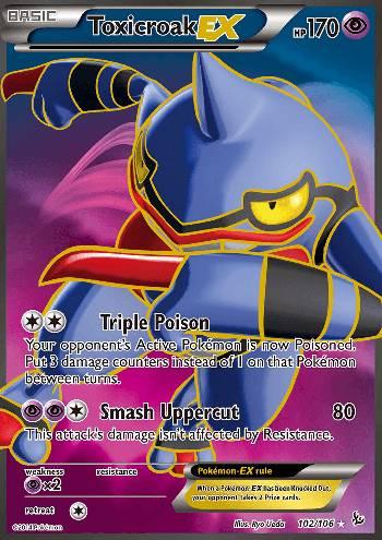 Toxicroak-EX (#102/109)