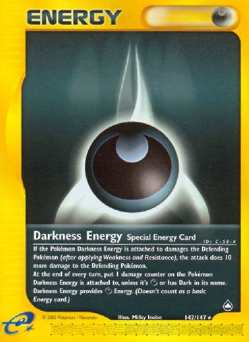 Energia de Escuridão / Darkness Energy (#142/182)