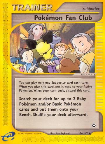 Pokémon Fan Club (#130/182)