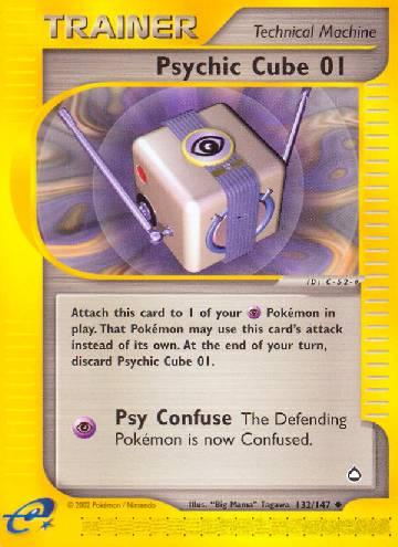 Psychic Cube 01 (#132/182)