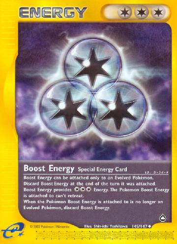 Boost Energy (#145/182)