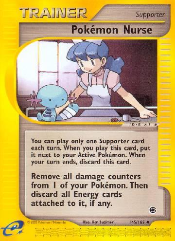 Pokémon Nurse (#145/165)