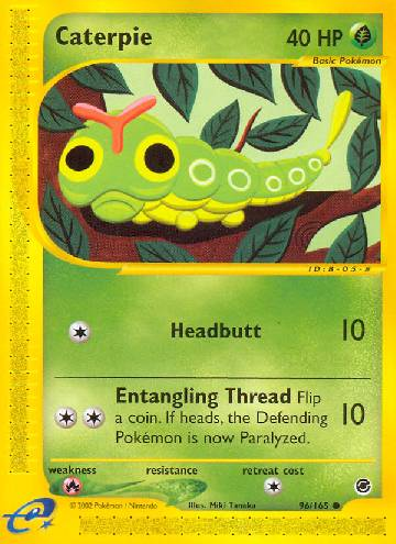 Caterpie (#96/165)