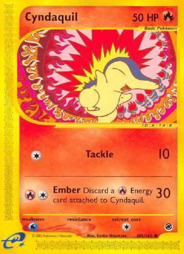 Cyndaquil (#105/165)