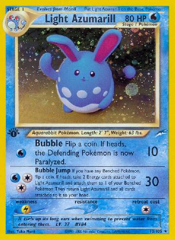 Light Azumarill (#13/113)