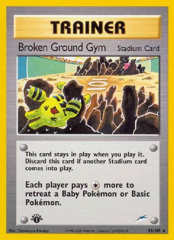 Broken Ground Gym (#92/113)
