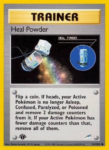 Heal Powder (#104/113)