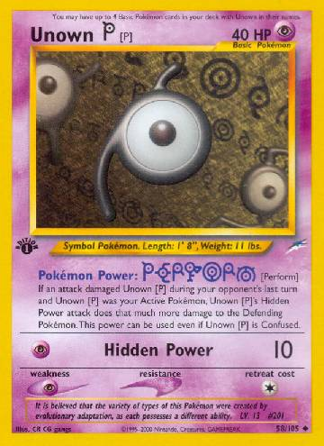 Unown P (#58/113)