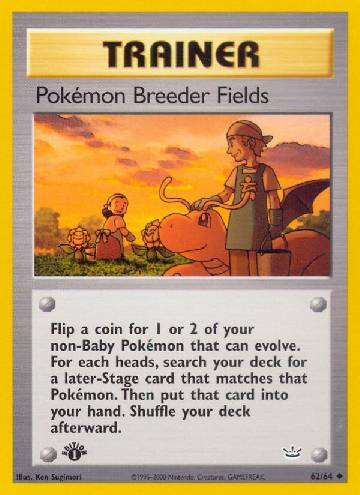 Pokémon Breeder Fields (#62/66)