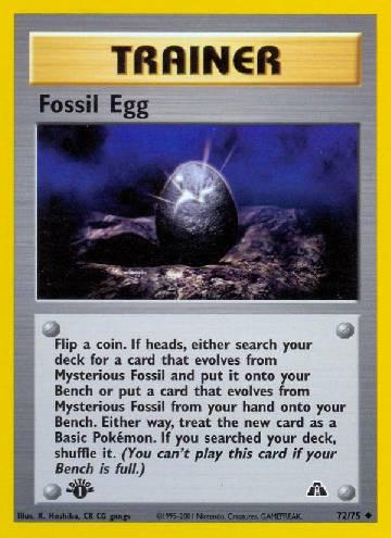Fossil Egg (#72/75)