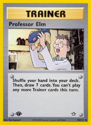 Professor Elm (#96/111)