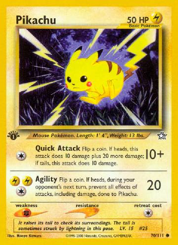 Pikachu (#70/111)