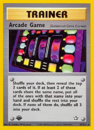 Arcade Game (#83/111)