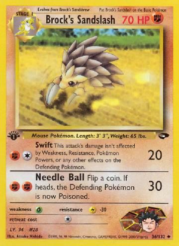 Brock's Sandslash (#36/132)