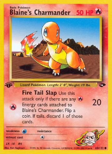 Charmander do Blaine (#60/132)
