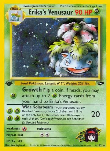 Erika's Venusaur (#4/132)