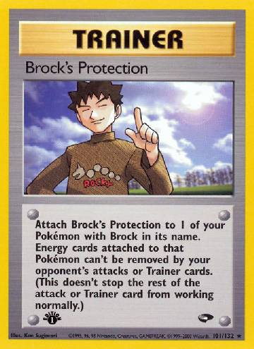 Brock's Protection (#101/132)