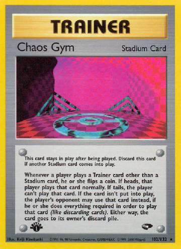 Chaos Gym (#102/132)