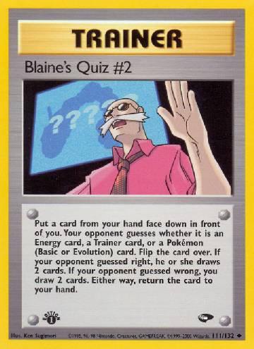 Blaine's Quiz #2 (#111/132)