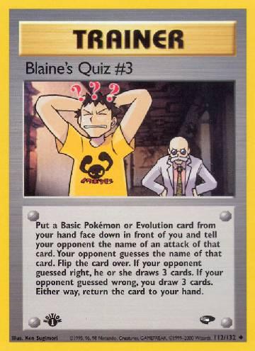 Blaine's Quiz #3 (#112/132)