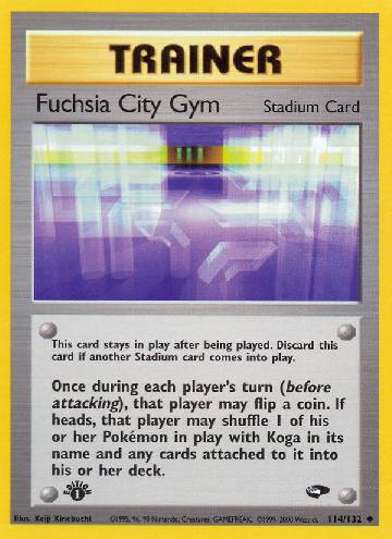 Fuchsia City Gym (#114/132)