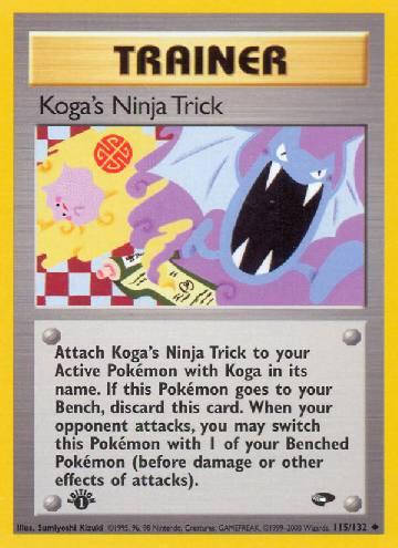 Koga's Ninja Trick (#115/132)