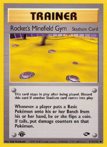 Rocket's Minefield Gym (#119/132)